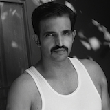 Varun Suri In Moustache